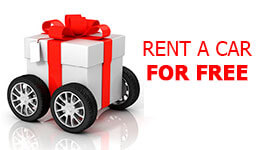 Rent a car for free