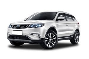 Rent a car Geely Atlas in Minsk