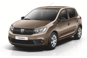 Rent a car Renault Sandero in Minsk