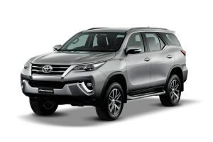 Rent a car Toyota Fortuner in Minsk